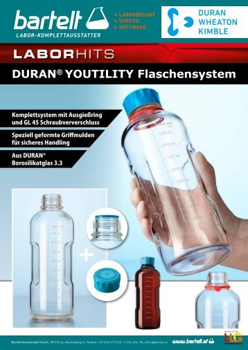 Duran Youtility Flaschensysteme Aktion