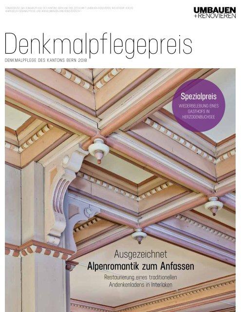 Denkmalpflegepreis 2018