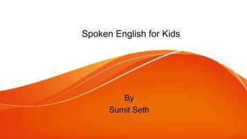 Spoken English for Kids