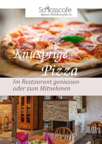 Leckere Pizza vom Schlosscafe in Beuren
