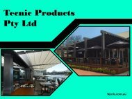 Commercial Awning to Attract Customers