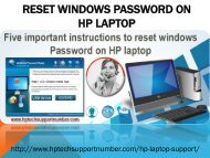 HP Laptop Technical Support Number