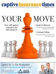 Captive Insurance Times issue 145