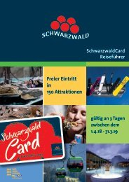 SchwarzwaldCard Reiseführer 18/19 Deutsch