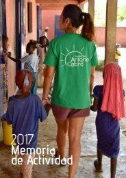 Memoria Fundación Antonio Cabré 2018