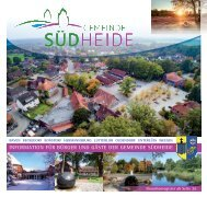 Infobroschüre Gemeinde Südheide 2017 Druck