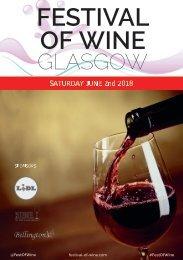 Glasgow Festival of Wine 2018 | Wine Tasting Catalogue