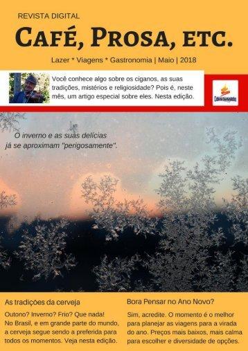 Revista Café, Prosa, Etc. Maio18