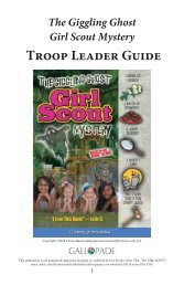 The Giggling Ghost Girl Scout Mystery Troop Leader Guide