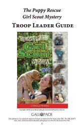 The Puppy Rescue Girl Scout Mystery Troop Leader Guide
