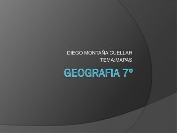 GEOGRAFIA 7º