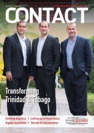 Contact Magazine - Transforming Trinidad & Tobago