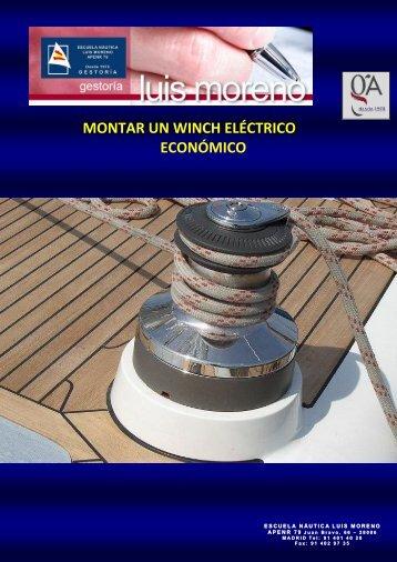 MONTAR UN WINCH ELÉCTRICO ECONÓMICO - Fondear.org