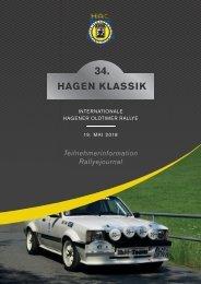 Rallyejournal Hagen Klassik 2018