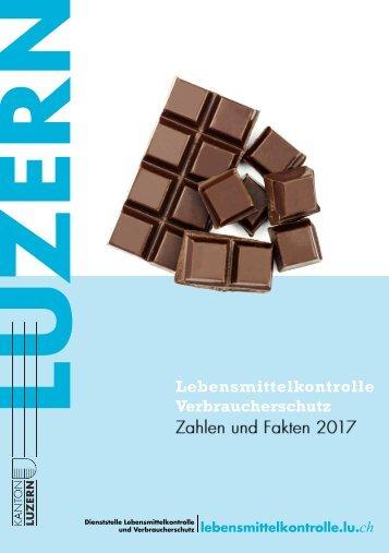 Jahresbericht 2017 der Dienststelle Lebensmittelkontrolle und Verbraucherschutz