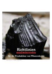 Richtlinien - Biochar Science Network