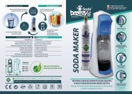 Soda Breezy S Soda Maker - Manuale ITA/ENG