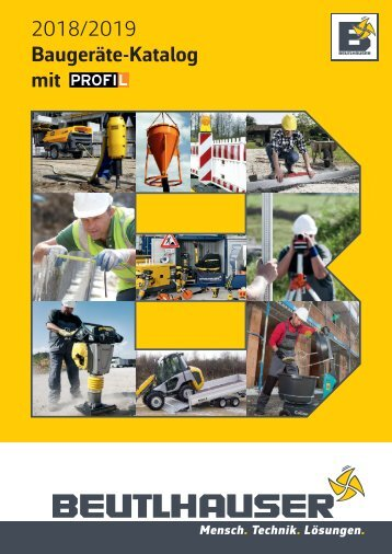 Baugeraete Katalog 2018-2019