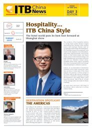 ITB China News 2018 - Day 3 Edition