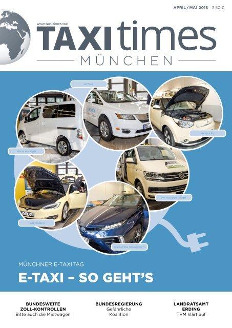 Taxi Times München - April 2018