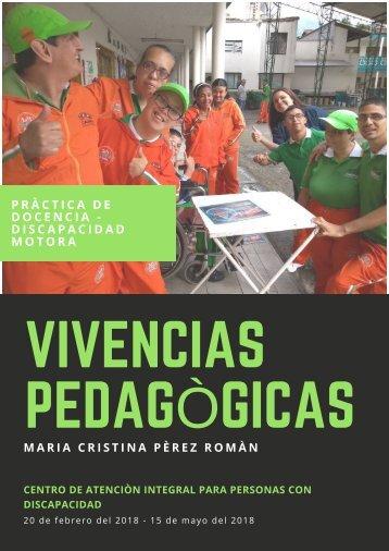 VIVENCIAS PEDAGÒGICAS