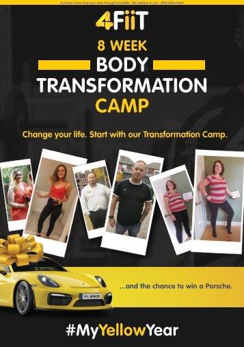 Transformation Camp Booklet 2018