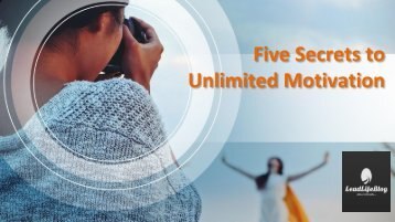 Motivational Blogs about Life | Best blogs on motivation | Leadlife Blog
