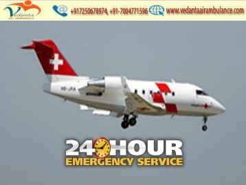 Vedanta Air Ambulance from Bhopal to Delhi is available 24/7