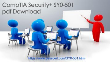CompTIA Security+ SY0-501 dumps