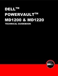 Technical Guidebook for PowerVault MD1200 and MD1220 - Dell
