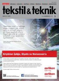 Tekstil Teknik Mayıs 2018