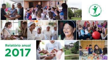 Relatório anual 2017 - Irmandade Betânia