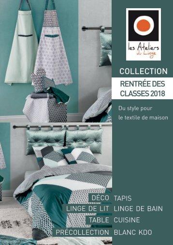 Book Les Ateliers du Linge Rentrée des classes 2018