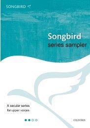 Songbird series sampler