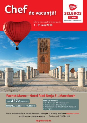 Selgros Travel mai 2018