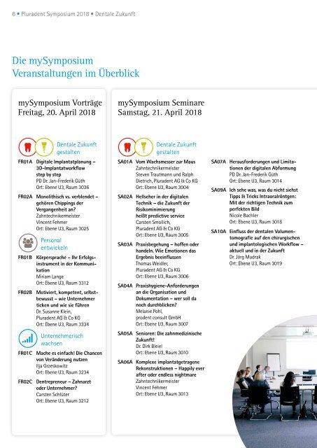 Pluradent Symposium 2018