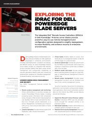Implementation of the DMTF Redfish API on Dell PowerEdge Servers