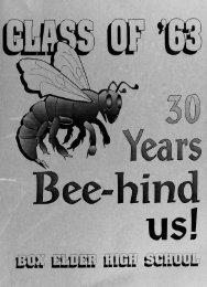 30 Years BEEhind Us