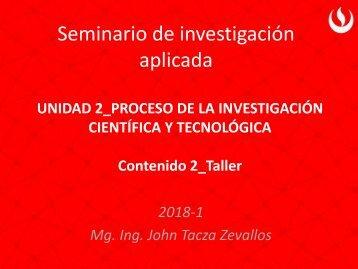 Contenido 2_Taller Problema Investigación