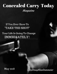 Concealed Carry Magazine May 2018 Article 22