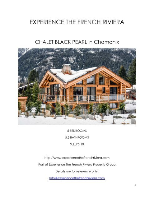 Chalet Black Pearl - Chamonix