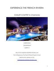 Chalet Couttet - Chamonix