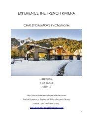 Chalet Dalmore - Chamonix