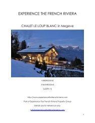 Chalet Le Loup Blanc - Megeve