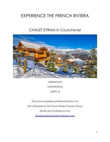 Chalet Syrma - Courchevel