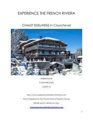 Chalet Edelweiss - Courchevel