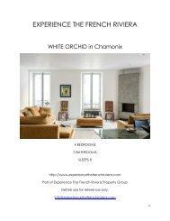 White Orchid - Chamonix