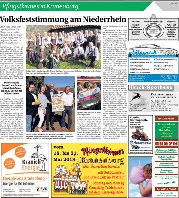 Pfingstkirmes in Kranenburg  -18.05.2018-