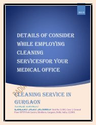 Consider While Employing Cleaning Service for Your Medical Office