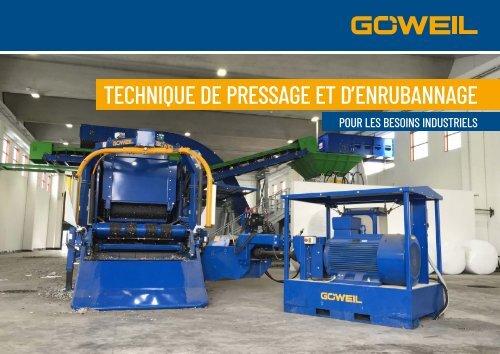Technique de pressage et d'enrubannage industrielle| Goeweil